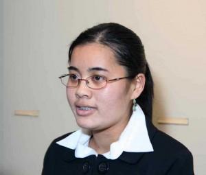 Scholarship winner Thanh Huynh Nguyen